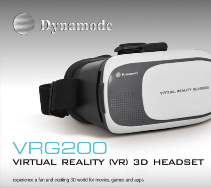 VR Headest - 3D Virtual Reality using your Phone! - Netbit UK