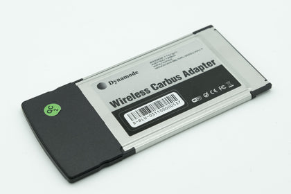 Dynamode  - WL-GI-300-11N - PCMCIA Laptop Network Card, 11n 300 Mbps 2.4 GHz Wi-Fi Wireless Cardbus