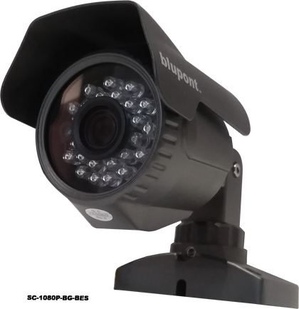 2.0MP 4 in 1 Grey Bullet CCTV Camera - Netbit UK