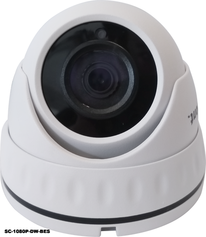 2.0MP 4in1 White Dome CCTV Camera