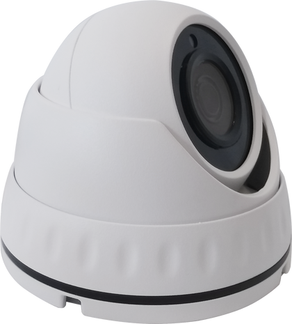 1.0MP 4 in 1 White Dome CCTV Camera