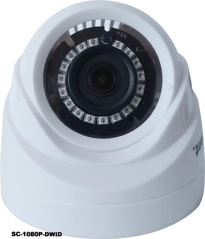 2.0MP 4in1 White Dome Indoor CCTV Camera