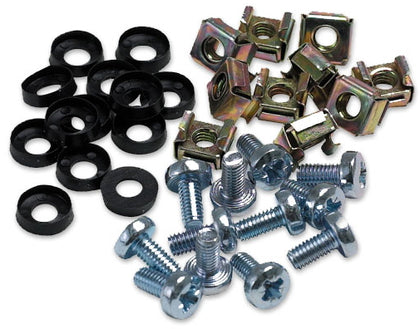 Bag of M6 cage Nuts & Screws (50)