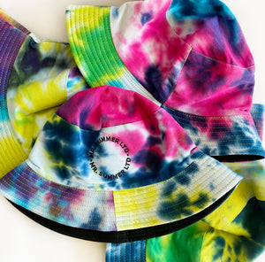 Limited Edition Bucket Hat - Tie Dye Dark - Mr. Summer Ltd.