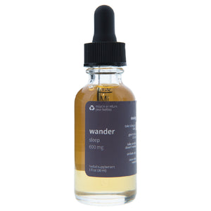 Wander Sleep Oil 600mg