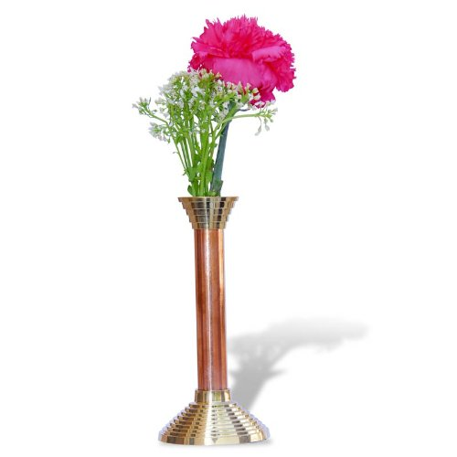 Copper Brass Flower Vase The Ancient Village - Fivebutlers  sc 1 st  Fivebutlers.com & COPPER BRASS FLOWER VASE \u2014 Fivebutlers