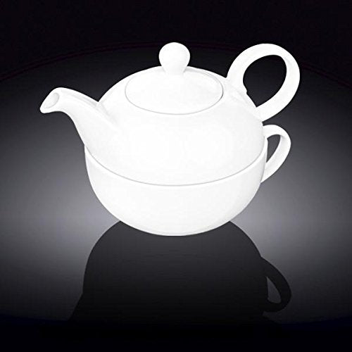 Tea Set Of One 13 Oz | 375 Ml & Cup 11Oz 340 Ml, Wilmax England - Fivebutlers