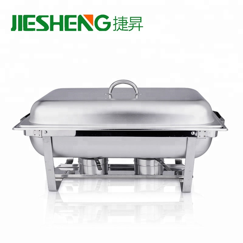 Stainless Steel Rectangle Buffet Chafer Furnace ,  Model Number: L061, Jiesheng - Fivebutlers