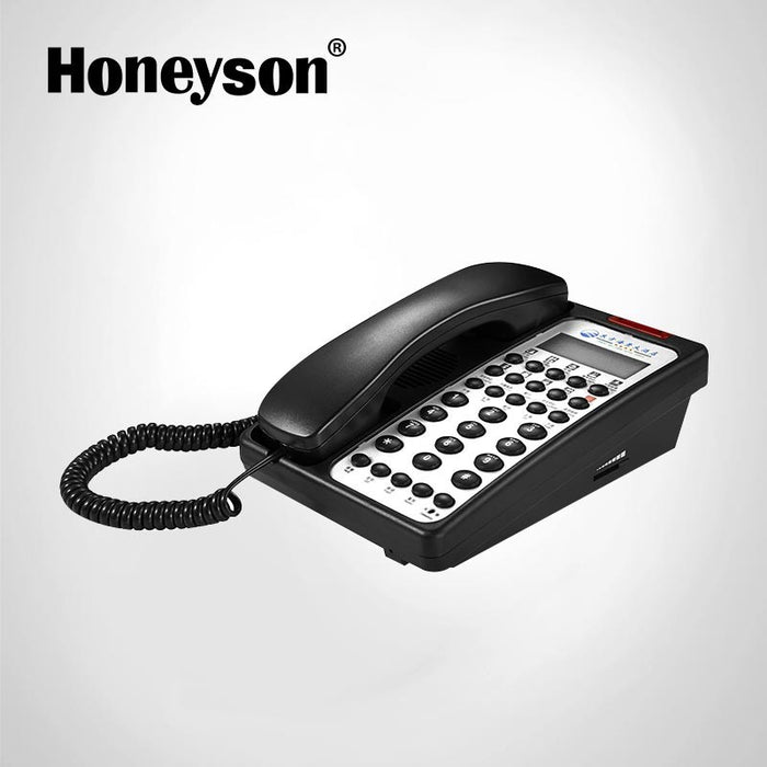 Telephone ,  Model No: Sn-0003 Black, Honeyson - Fivebutlers