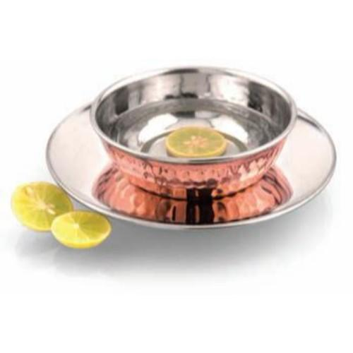 Ss Copper Finger Bowl With Liner, The Ancient Village - Fivebutlers