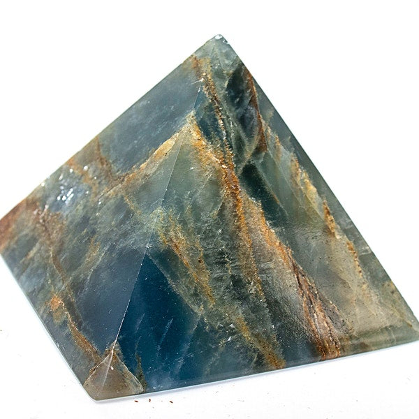 Blue Water Calcite