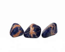 Orange Sodalite Trio