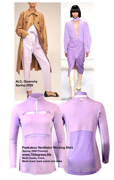 Runway Trend from NYC + Europe for Spring 2020- Lilac, lavender, purple, violet, orchid (whatever-you-call-it-must-buy-it)