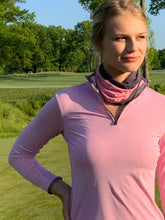 Load image into Gallery viewer, Python Print Trim Classic Wicking Shirt in Pink Glow