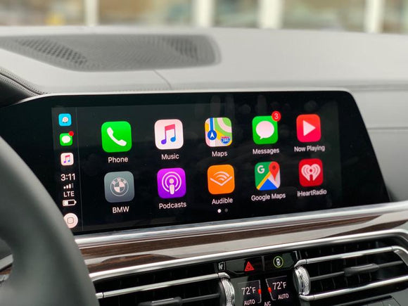 iDrive 7 MGU Fullscreen Carplay Lifetime Activation + Video In Motion 2019+