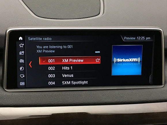 Sirius Satellite Radio Activation