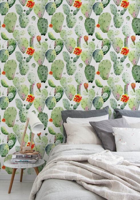 Cactus - Self-adhesive Removable Wallpaper