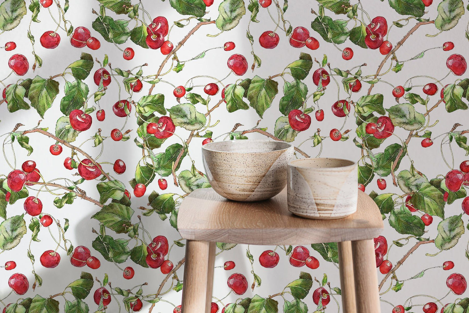 Floral - Cherry Wallpaper