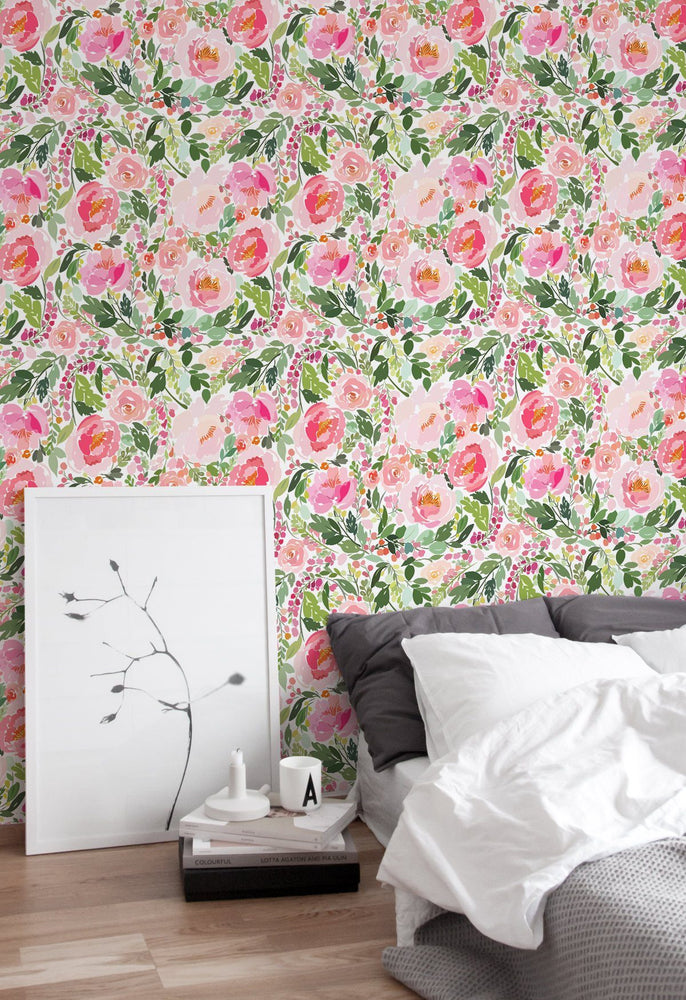 Floral - Tropical Removable Wallpaper