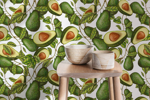 Fruit Wallpaper - Avocado Wallpaper