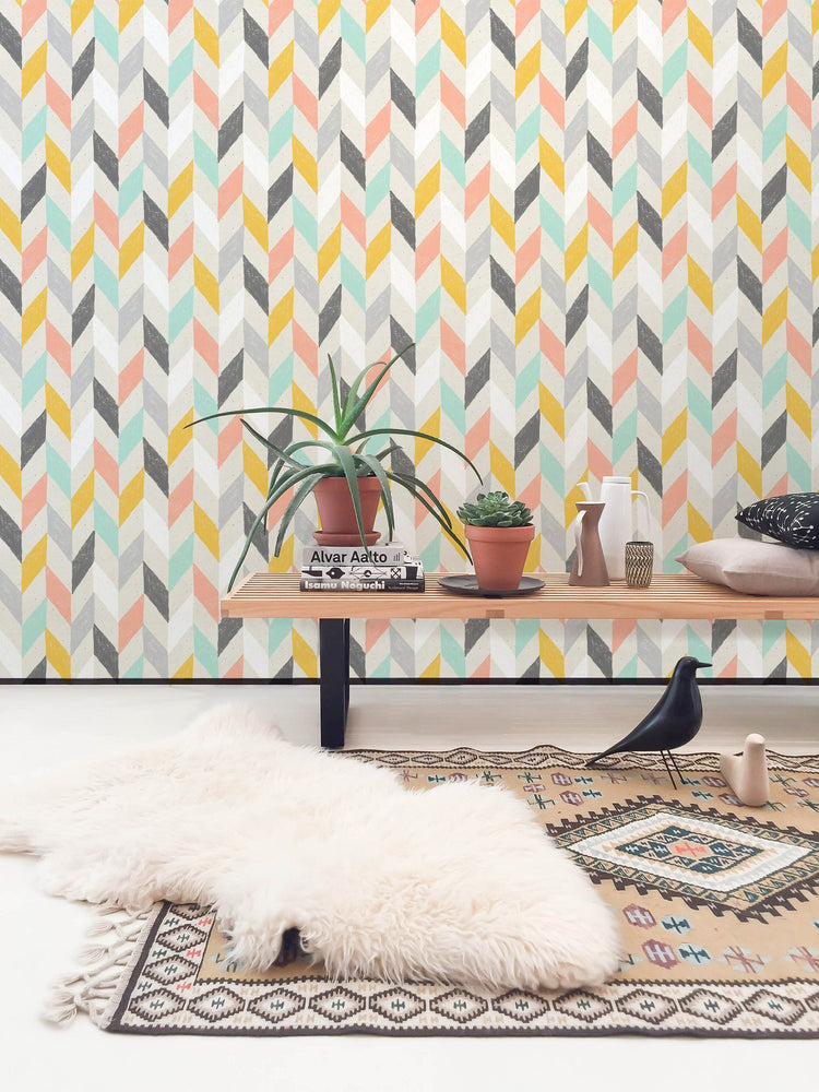 Geometric - Chevron Wallpaper