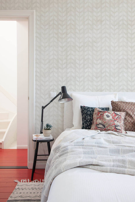 Geometric - Herringbone Wallpaper