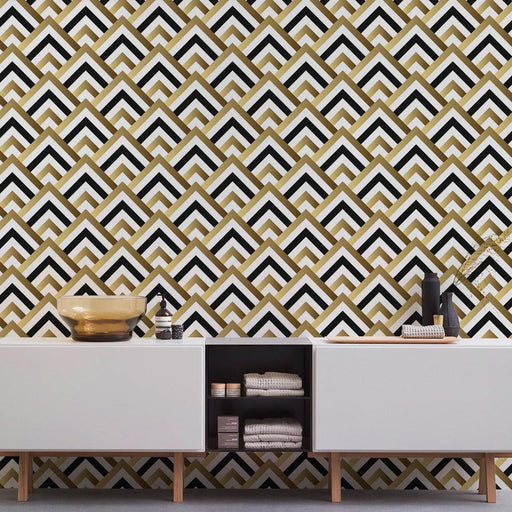 Geometric Wallpaper - Art Deco Wallpaper