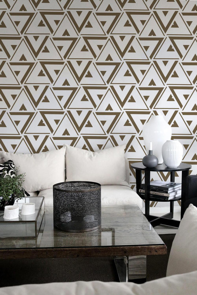 Geometric Wallpaper - Geometric Triangle Wallpaper