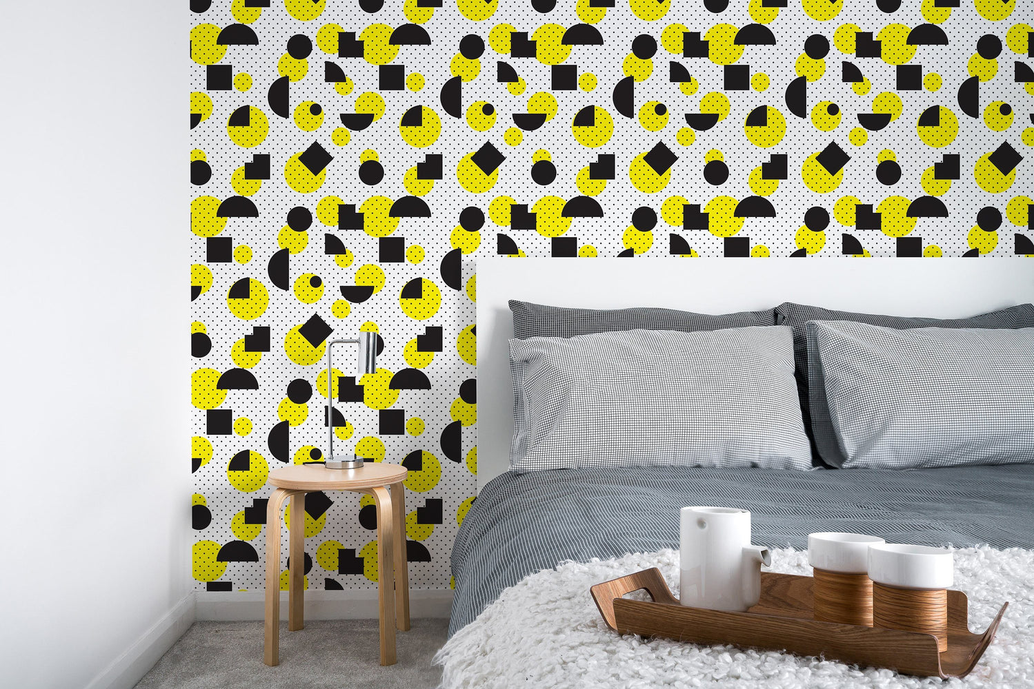 Geometric Wallpaper - Temporary Wallpaper