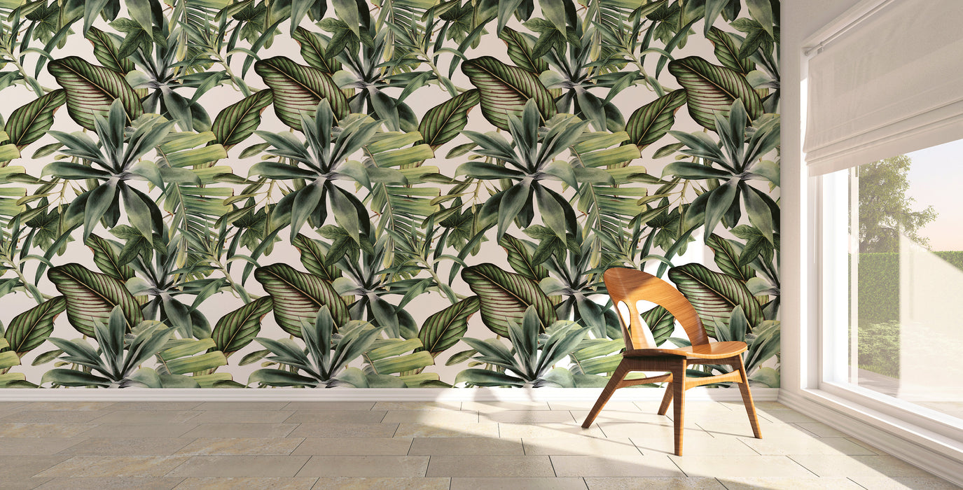 Removable Wallpaper Peel and Stick Wallpaper Wall Paper Wall Mural - Tropical Wallpaper - A450
