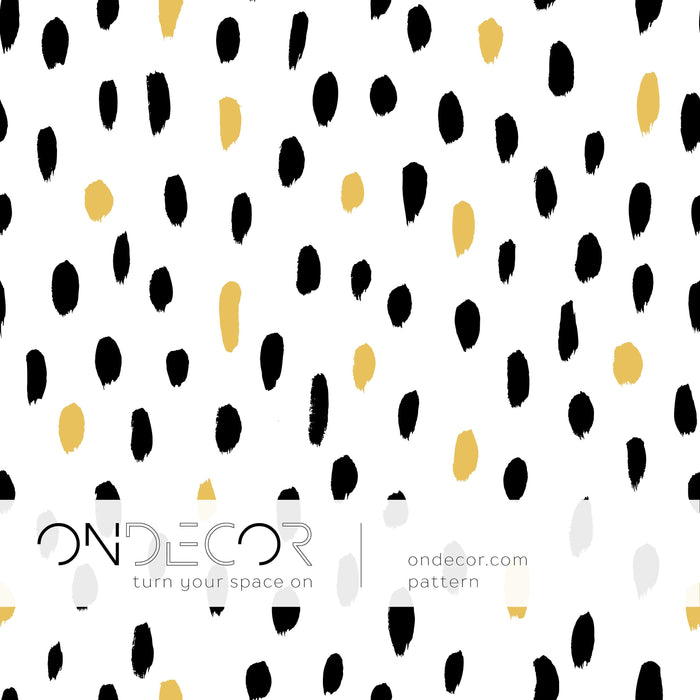 Minimalistic Wallpaper - Gold Spots Wallpaper