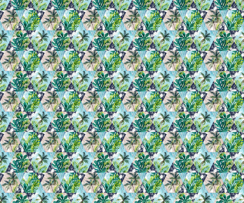 Palm Wallpaper - Exotic Palm Leaves
