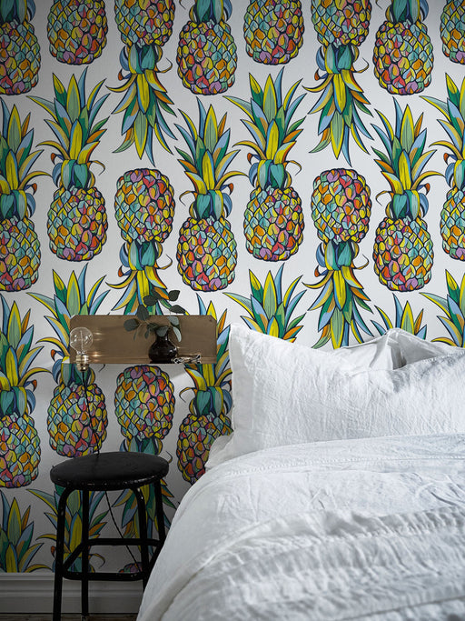 Tropical Wallpaper - Pineapple Wallpaper