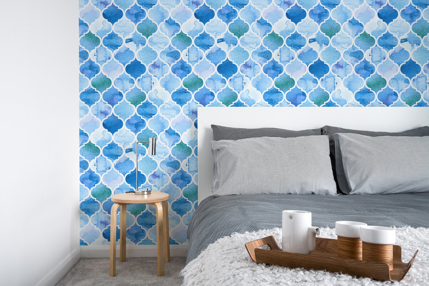 Watercolor Wallpaper - Watercolor Moroccan