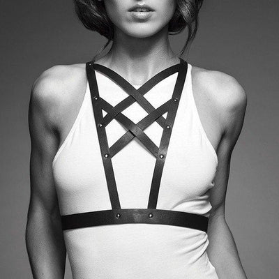 Bijoux Indiscrets-Maze-Cross Cleavage Harness
