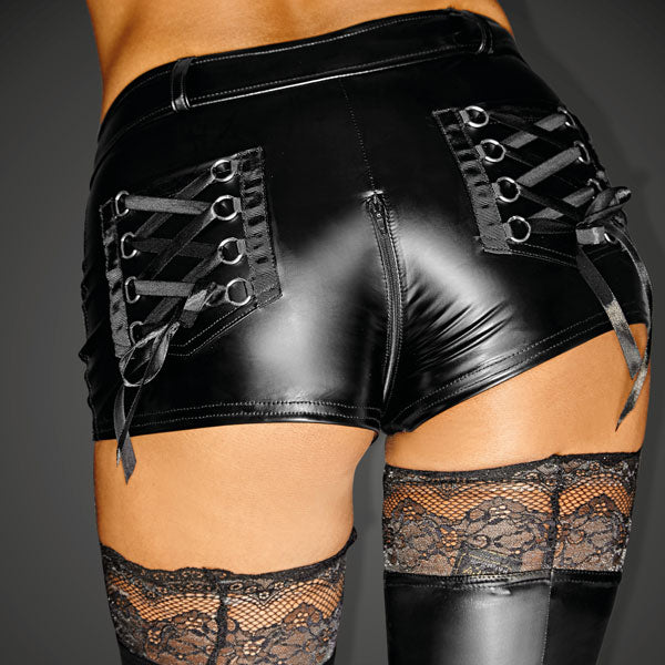 Powerwetlook SELFISH Shorts with 2-way Zipper