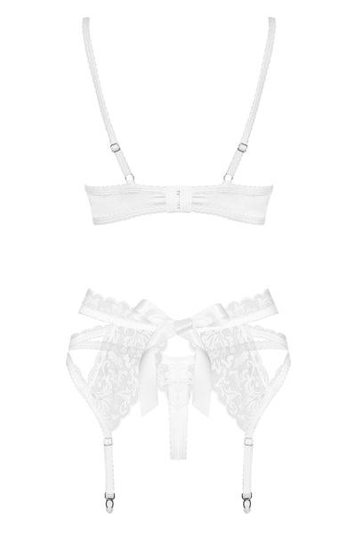 Elegant 3 Piece Set in White