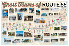 GHOST TOWNS OF ROUTE 66: THE FORGOTTEN PLACES ALONG AMERICA'S FAMOUS HIGHWAY  by Jim Hinckley  (Author), James Kerrick (Photographer)