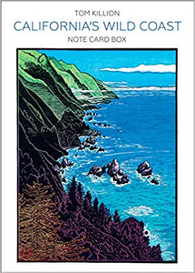 CALIFORNIA'S WILD COAST NOTE CARD BOX  by Tom Killion