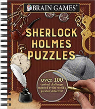 BRAIN GAMES: SHERLOCK HOLMES PUZZLES  by Editors of Publications International, Ltd.