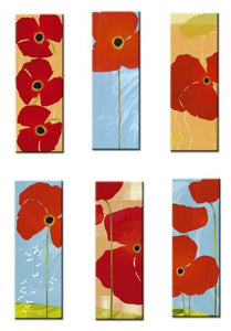 POPPIES BOOKNOTES  by Susy Pilgrim Waters