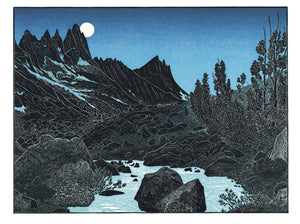 THE HIGH SIERRA NOTE CARD BOX  by Tom Killion