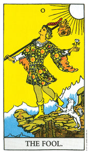 THE RIDER TAROT DECK  by by Arthur Edward Waite and Pamela Colman Smith