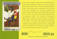 LONDON ZOO:  ART FOR LONDON TRANSPORT - A BOOK OF POSTCARDS