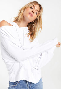 Jerri Terry Sweatshirt in White