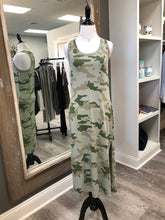 Load image into Gallery viewer, Camo Tank Dress