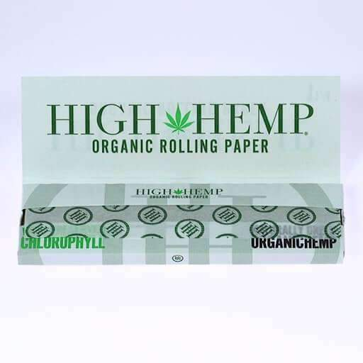 "High Hemp 1/4"" Size Rolling Paper - Rolling Papers - Smokerolla Shop"