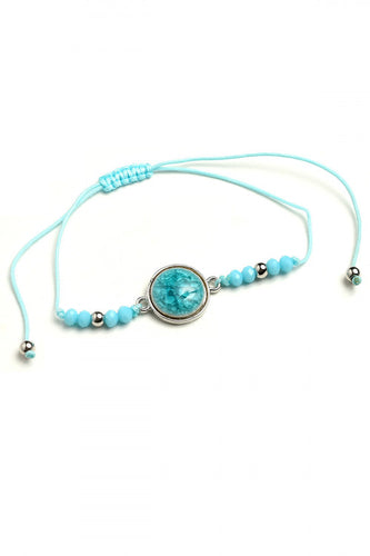 Gem Bead Design Bracelet