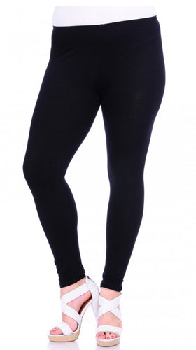 Black Leggings Juniors Plus Size