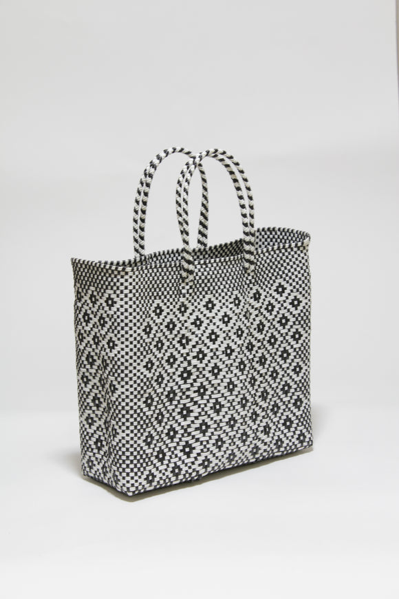 Black and White Diamond Bag Mサイズ
